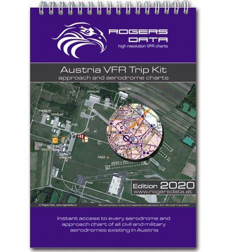 Österreich Rogers Data VFR Trip Kit 200k 2020