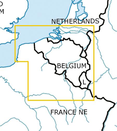 Belgien_Luxemburg-VFR-Luftfahrtkarte-ICAO-Karte-500k