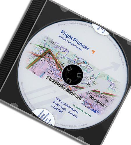 CD Österreich VFR Luftfahrtkarte - ICAO Karte 200k 2020