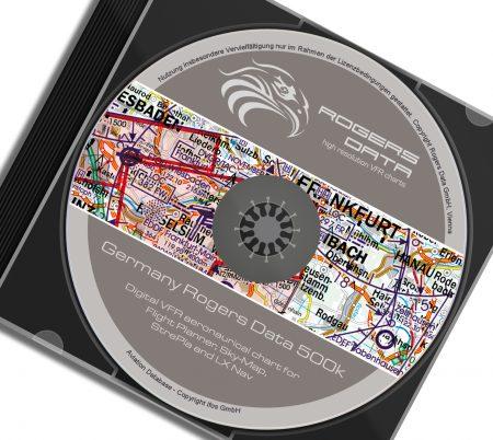 CD Deutschland VFR Luftfahrtkarte - ICAO Karte 500k 2020