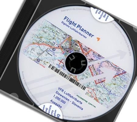 CD Slowenien VFR Luftfahrtkarte - ICAO Karte 200k 2020