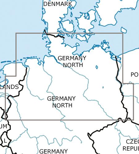 Deutschland-Nord-VFR-Luftfahrtkarte-ICAO-Karte-500k