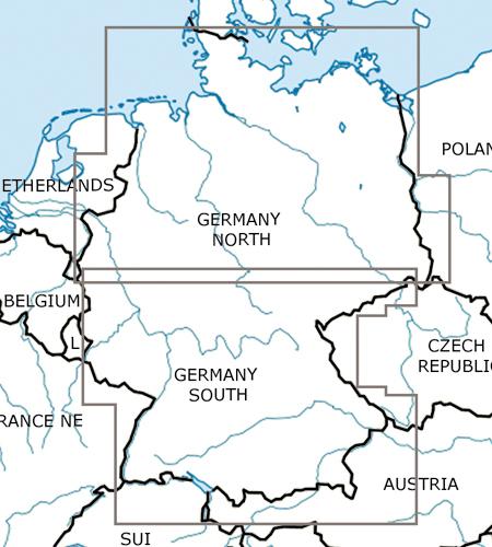 Deutschland-VFR-Luftfahrtkarte-ICAO-Karte-500k