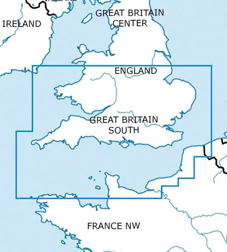 England-Süd-VFR-Luftfahrtkarte-ICAO-Karte-500k