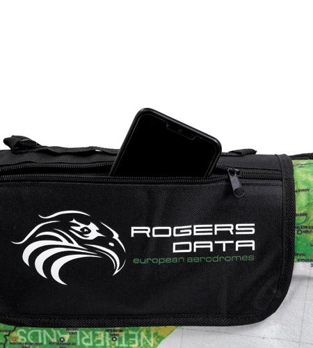 "Picknickdecke ""European Aerodromes"" XL Rogers Data"