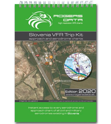 Slowenien Rogers Data VFR Trip Kit 200k 2020