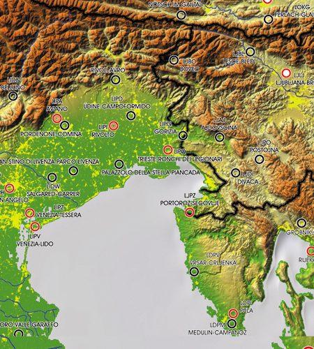 European Aerodromes Rogers Data chart 2.500k