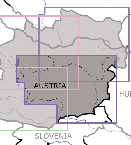 Steiermark-VFR-Luftfahrtkarte-ICAO-Karte-200k