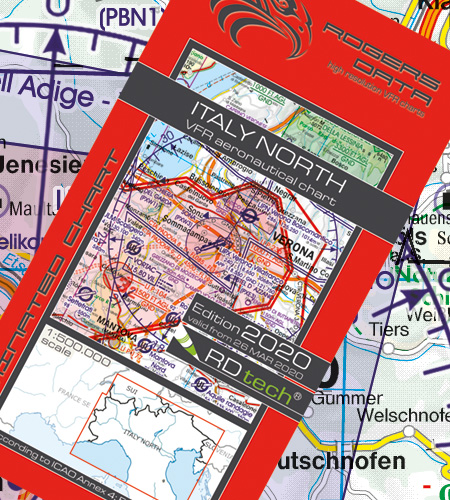 Rogers Data VFR Luftfahrtkarten ICAO Karten