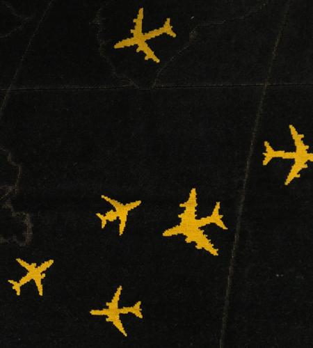 Oceanic-Control-Badetuch-Strandtuch-Rogers- Airliner-Jetliner-A380-Gulfstream-Flugzeug-Luftfahrt