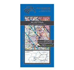 Rogers Data VFR Luftfahrtkarte ICAO Karte Österreich