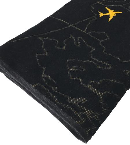 Oceanic-Control-Beachtowel-Bath-Towel-Rogers-Data-Folded-Aeroplanes-Detail
