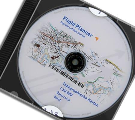 CD Österreich BEV OEK50 Topographie 50k