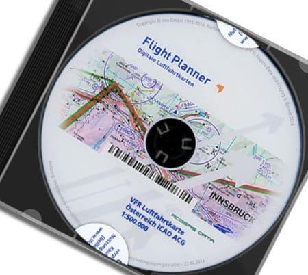 CD Österreich ICAO ACG VFR 500k