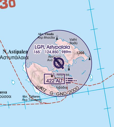 ATZ Flugplatzverkehrszonen Griechenland