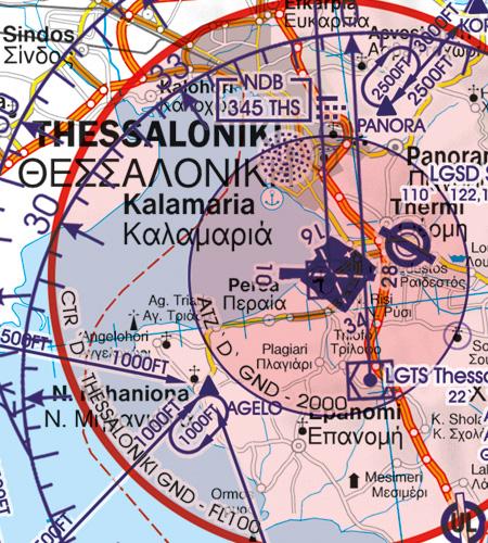 Flughafen Thessaloniki Griechenland