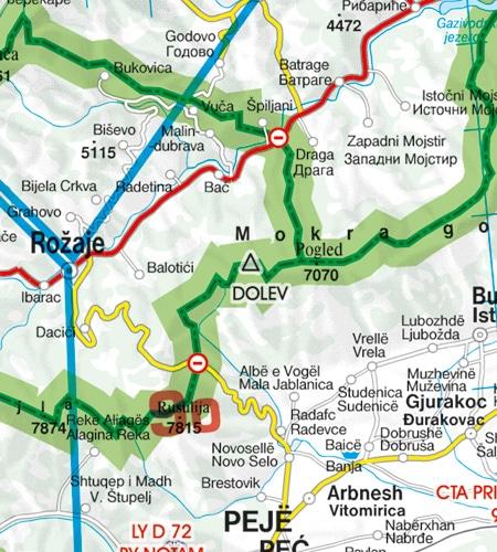 Grenzüberflugpunkt Balkans