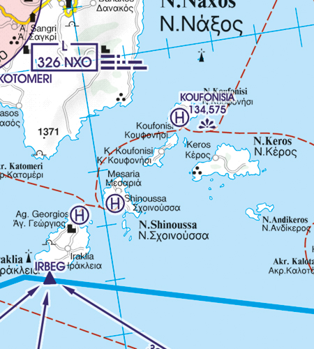 Hubschrauberlandeplatz Griechenland