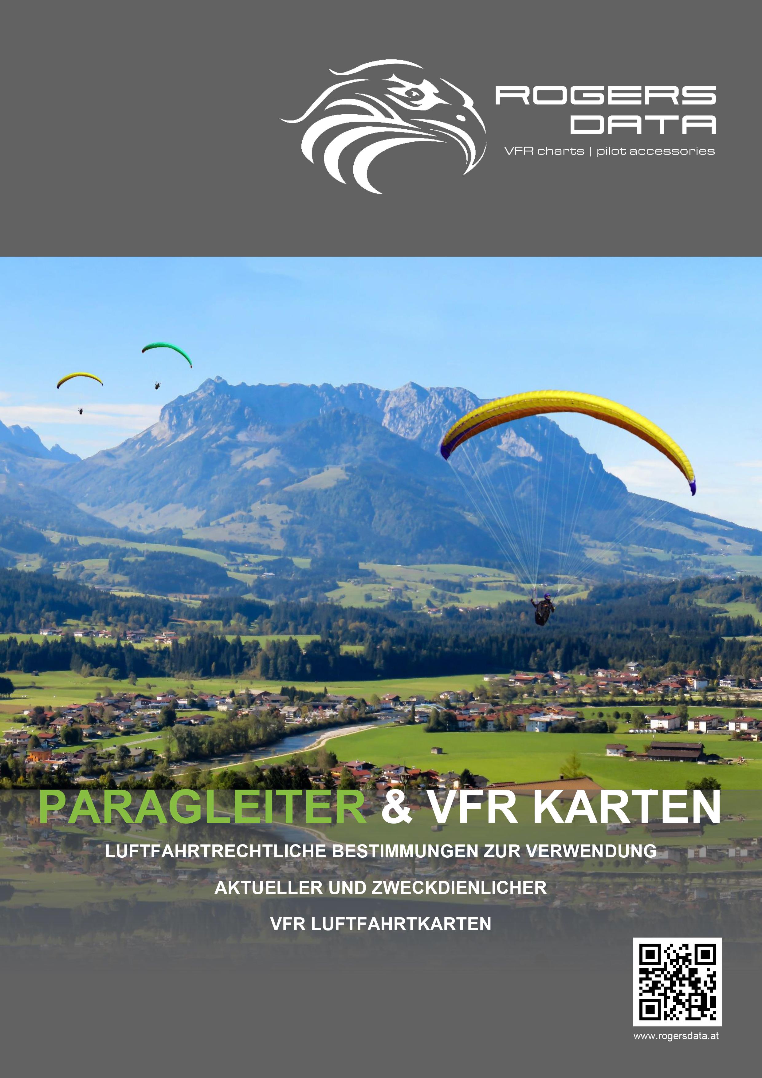 Paragleiter und VFR Karten