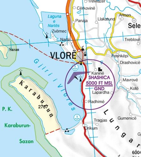 Luftsportgebiet Erholungsaktivitäten Balkans