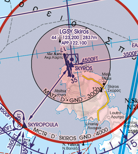 MCTR Militär Kontollzone Griechenland
