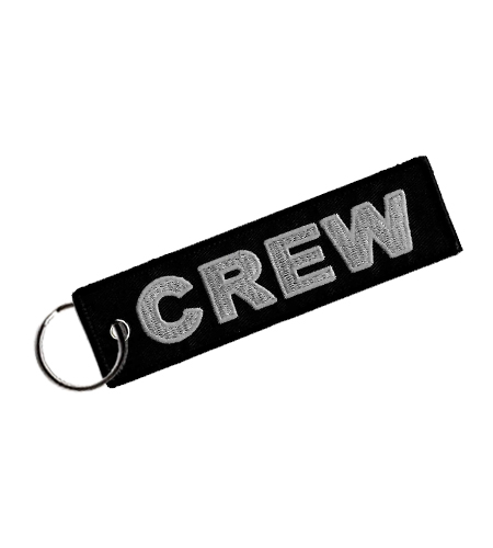 Rogers Data Schlüsselanhänger crew black