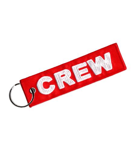 Rogers Data Schlüsselanhänger crew red