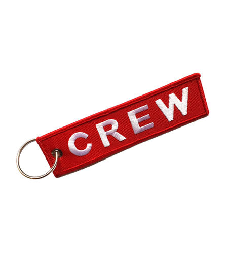 Rogers Data Keychain crew red