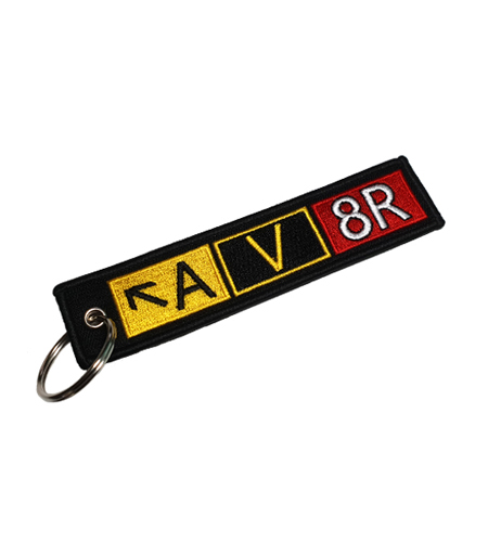 Rogers Data Keychain taxiway sign