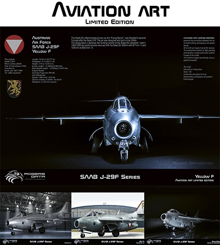 Austrian Air Force SAAB J-29F