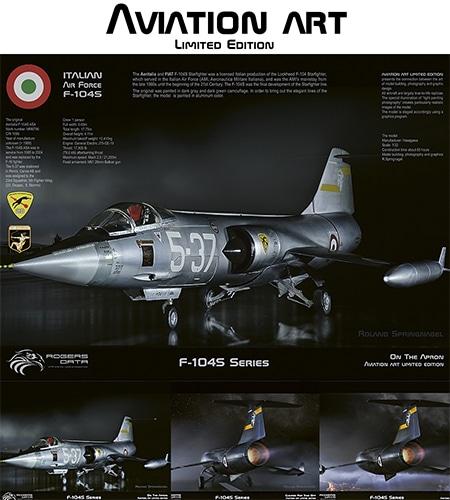 Italienische Luftwaffe F-104S Starfighter