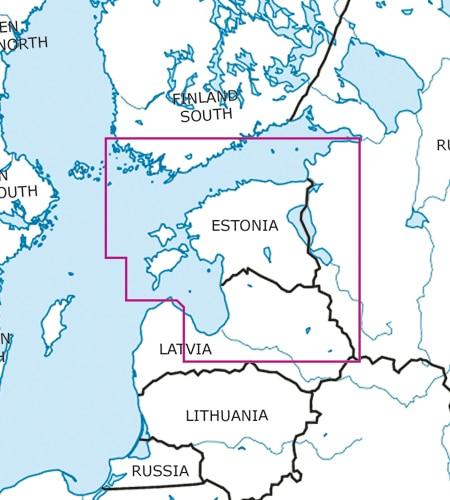 Estland VFR ICAO Karte