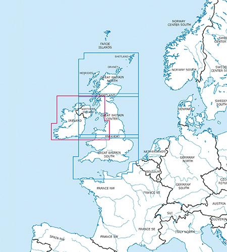 Great Britain Ireland VFR Charts ICAO Charts