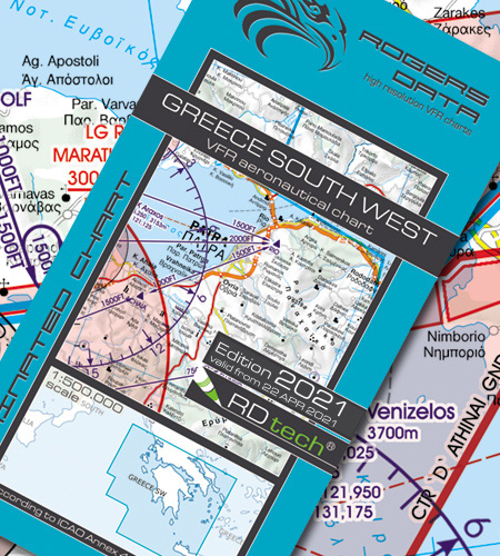 Greece South West VFR ICAO Chart 2021