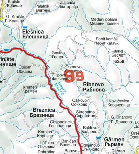 Grid Area Altitue Bulgarien