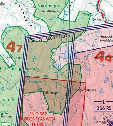 TIA Traffic Information Area Norwegen