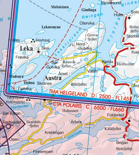 TMA Nahkontrollbezirk CTA Norwegen