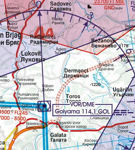 VOR Funknavigationsanlage Bulgarien