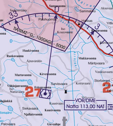 VOR Funknavigationsanlage Schweden