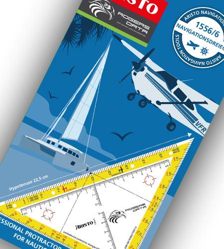 Navigationsdreieck EASA ICAO Verpackung vorne
