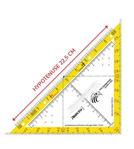 Navigationsdreieck Hypotenuse EASA ICAO