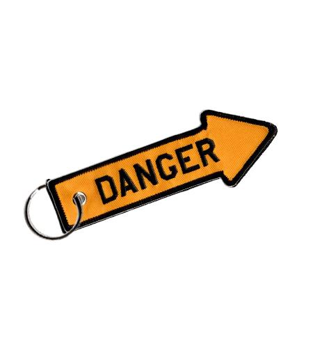 Rogers Data Schlüsselanhänger danger