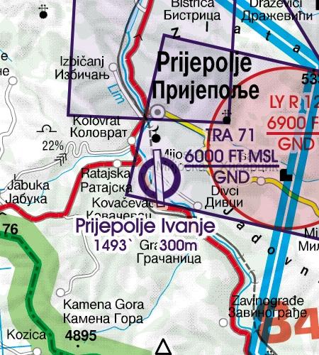 prijepolje-ivanje-flugplatz-luftfahrtkarte-serbien-rogers-data-icao-500k