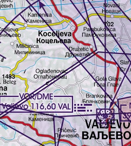 serbien-funknavigationsanlagen-vor-icao-sichtflugkarte