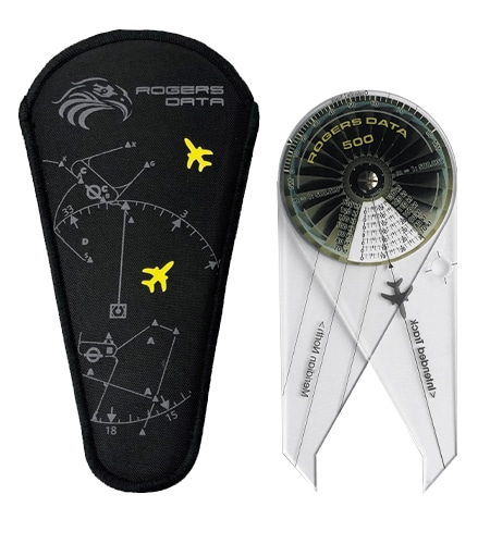 Navigationszirkel Nylontasche