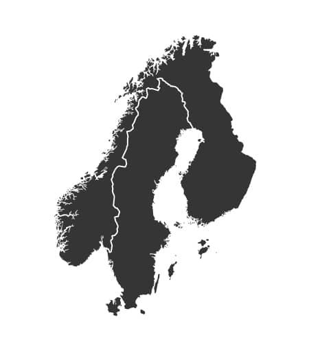 Scandinavia VFR 500k Bundle Rogers Data