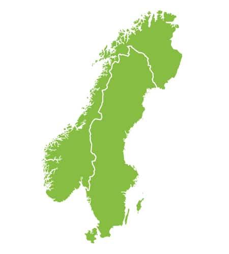 Sweden Norway VFR 500k Bundle Rogers Data